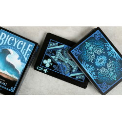 "Bicycle Natural Disasters ""Tsunami"" Playing Cards by Collectable Playing Cards wwww.jeux2cartes.fr"