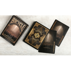 """Bicycle Natural Disasters """"Earthquake"""" Playing Cards by Collectable Playing Cards wwww.jeux2cartes.fr"""