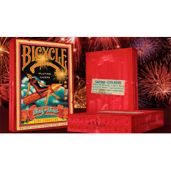 Bicycle Firecracker Playing Cards by Collectable Playing Cards wwww.jeux2cartes.fr