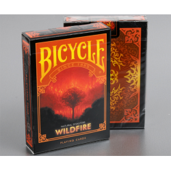 "Bicycle Natural Disasters ""Wildfire"" Playing Cards by Collectable Playing Cards wwww.jeux2cartes.fr"