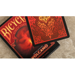 "Bicycle Natural Disasters ""Volcano"" Playing Cards by Collectable Playing Cards wwww.jeux2cartes.fr"