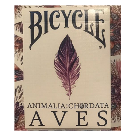 Bicycle AVES Uncaged Playing Cards by LUX Playing Cards wwww.jeux2cartes.fr