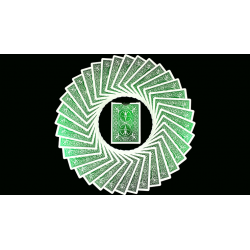 Bicycle MetalLuxe Emerald Playing Cards Limited Edition by JOKARTE wwww.jeux2cartes.fr