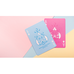 Bicycle Lovely Bear Cards - Light Blue (Limited Edition) wwww.jeux2cartes.fr