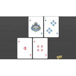 Bicycle Little Atlantis Day Playing Cards wwww.jeux2cartes.fr