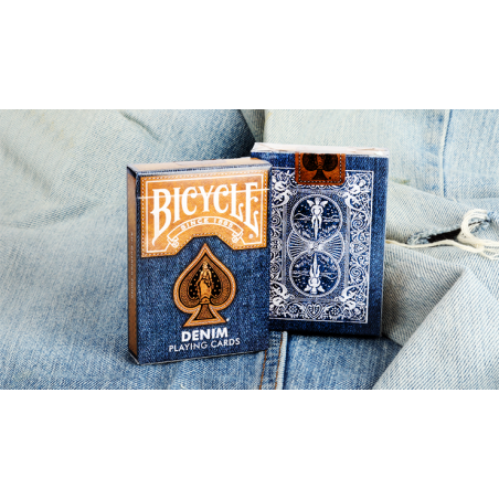 Bicycle Denim Playing Card by Collectable Playing Cards wwww.jeux2cartes.fr