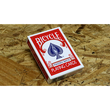 Bicycle Maiden Back (Red) by US Playing Card Co wwww.jeux2cartes.fr