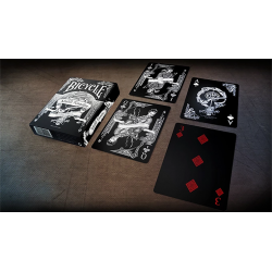 Bicycle Middle Kingdom (Black)  Playing Cards Printed by US Playing Card Co wwww.jeux2cartes.fr