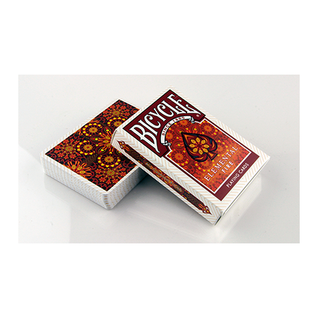 Bicycle Elemental Fire by Collectable Playing Cards wwww.jeux2cartes.fr