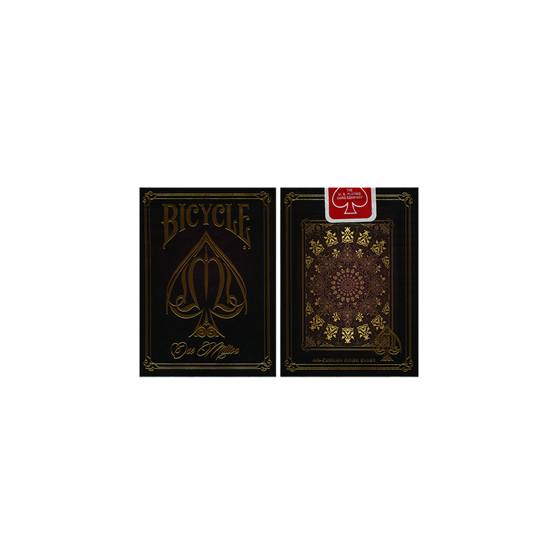 Bicycle One Million Deck (Red) by Elite Playing Cards wwww.jeux2cartes.fr