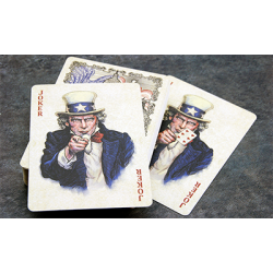 Bicycle US Presidents Playing Cards (Red Collector Edition) by Collectable Playing Cards wwww.jeux2cartes.fr