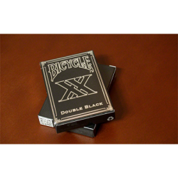 Double Black (Bicycle) by Gamblers Warehouse wwww.jeux2cartes.fr