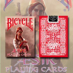 Bicycle AEsir Viking Gods Deck (Red) by US Playing Card Co. wwww.jeux2cartes.fr