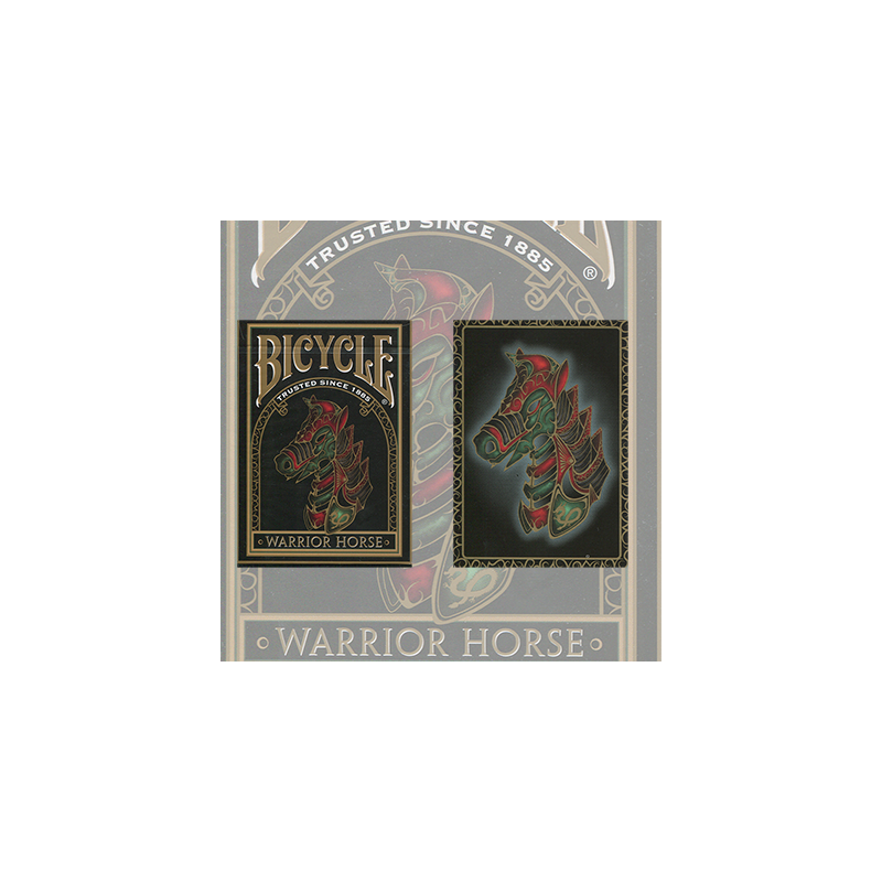 Bicycle Warrior Horse Deck by USPCC wwww.jeux2cartes.fr