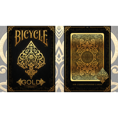 Bicycle Gold Deck by US Playing Cards wwww.jeux2cartes.fr