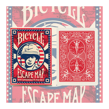 Bicycle Escape Map Deck by USPCC wwww.jeux2cartes.fr