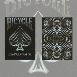 Bicycle Platinum Deck by US Playing Card Co. wwww.jeux2cartes.fr