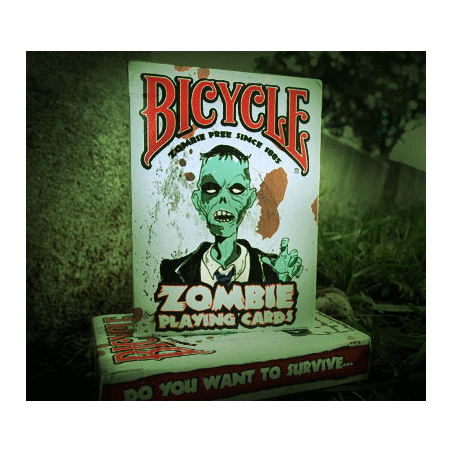 Bicycle Zombie Deck by USPCC wwww.jeux2cartes.fr
