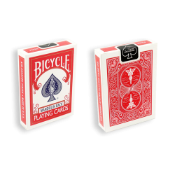 Bicycle Playing Cards 809 Mandolin Red by USPCC wwww.jeux2cartes.fr