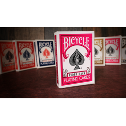 Bicycle Fuchsia Playing Cards by US Playing Card Co wwww.jeux2cartes.fr