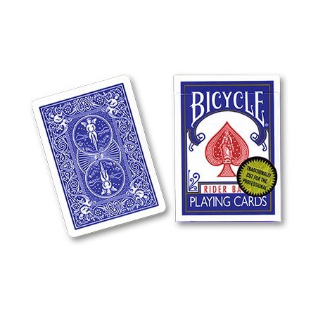 Bicycle Playing Cards (Gold Standard) - BLUE BACK  by Richard Turner wwww.jeux2cartes.fr