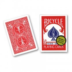 Bicycle Playing Cards (Gold Standard) - RED BACK  by Richard Turner wwww.jeux2cartes.fr