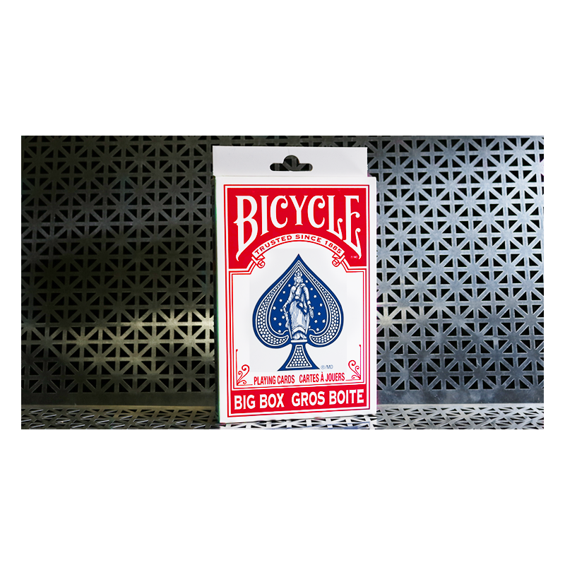 Big Bicycle Cards (Jumbo Bicycle Cards, Red) wwww.jeux2cartes.fr