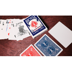 Bicycle Playing Cards Poker (Blue) by US Playing Card Co wwww.jeux2cartes.fr