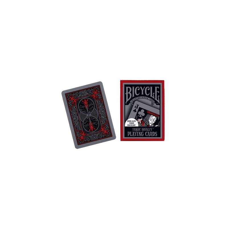 Cards Bicycle Tragic Royalty USPCC wwww.jeux2cartes.fr