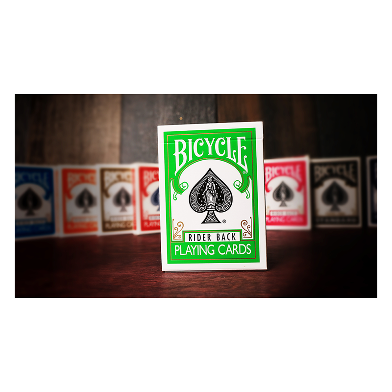 Bicycle Green Playing Cards  by US Playing Card Co wwww.jeux2cartes.fr