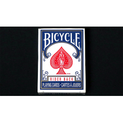 Mini Bicycle Cards (Blue) wwww.jeux2cartes.fr