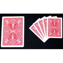 Mini Bicycle Cards (Red) wwww.jeux2cartes.fr