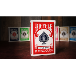 Bicycle Playing Cards Poker (Red) by US Playing Card Co wwww.jeux2cartes.fr