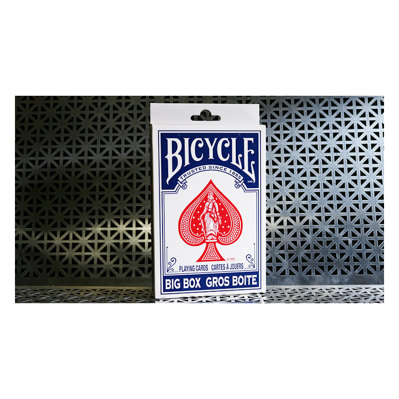 Big Bicycle Cards (Jumbo Bicycle Cards, Blue) wwww.jeux2cartes.fr
