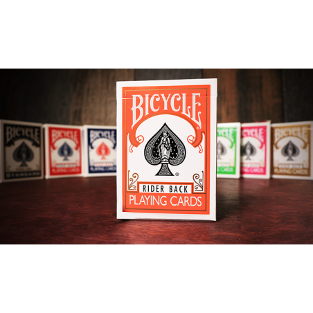 Bicycle Orange Playing Cards  by US Playing Card Co wwww.jeux2cartes.fr