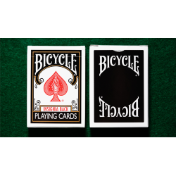 Bicycle Insignia Back (Black) Playing Cards wwww.jeux2cartes.fr