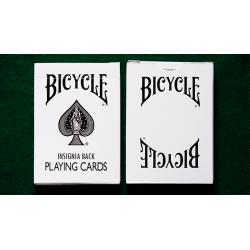 Bicycle Insignia Back (White) Playing Cards wwww.jeux2cartes.fr