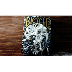 Bicycle Sumi Kitsune Myth Maker (blue) Playing Cards by Card Experiment wwww.jeux2cartes.fr