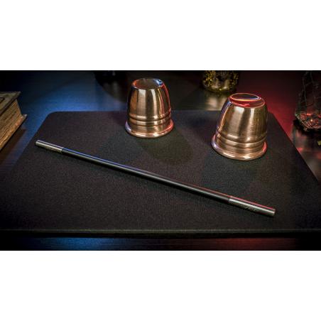 Tapis de cartes 28cm X 40cm Standard (Noir) wwww.jeux2cartes.fr