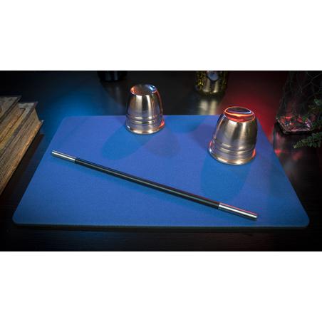 Tapis de cartes 28cm X 40cm Standard (Bleu) wwww.jeux2cartes.fr