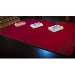 Standard Close-Up Pad 16X23 (Red) by Murphy's Magic Supplies - Trick wwww.jeux2cartes.fr