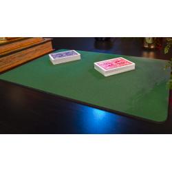 Tapis de cartes 28cm X 40cm Economique (Vert) wwww.jeux2cartes.fr