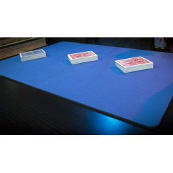 Tapis de cartes 40cm X 58cm Economique (Bleu) wwww.jeux2cartes.fr