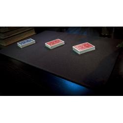 Tapis de cartes 40cm X 58cm Economique (Noir) wwww.jeux2cartes.fr