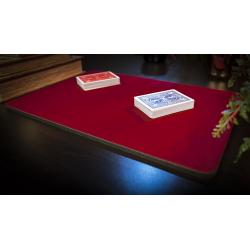 Tapis de cartes 28cm X 40cm Deluxe (Rouge) wwww.jeux2cartes.fr