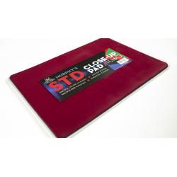 Tapis de cartes 28cm X 40cm Standard (Rouge) wwww.jeux2cartes.fr