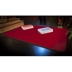 Tapis de cartes 28cm X 40cm Economique (Rouge) wwww.jeux2cartes.fr