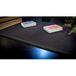 Tapis de cartes 28cm X 40cm Deluxe (Noir) wwww.jeux2cartes.fr