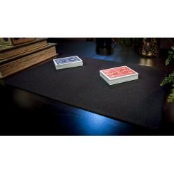 Tapis de cartes 28cm X 40cm Economique (Noir) wwww.jeux2cartes.fr