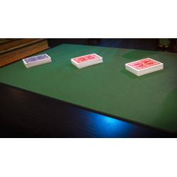 Tapis de cartes 40cm X 58cm Economique (Vert) wwww.jeux2cartes.fr
